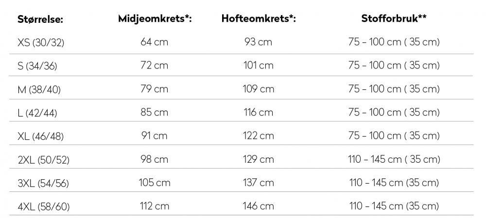 Høstskjørt (XS 4XL) Dame Ida Victoria Stofflykke.no